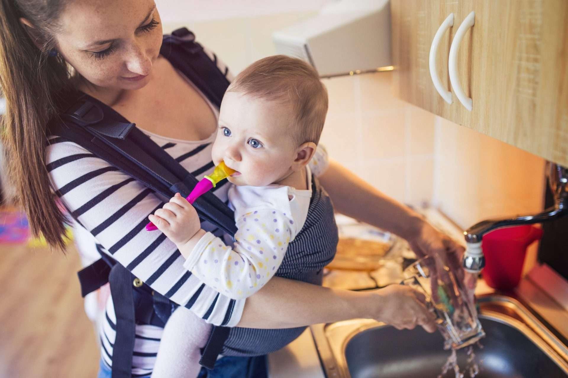 Babywearing Benefits Plus Tips to Save Time